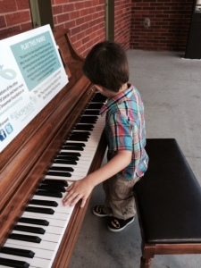 Play it Forward Piano at the Entrance