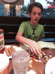 Veggie Grill and Lego Building